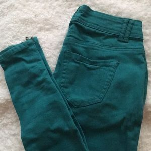 Romeo & Juliet Couture Teal Jeans